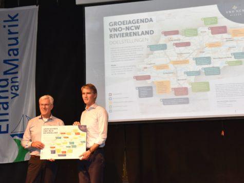 FruitDelta Regio Rivierenland neemt 'Groeiagenda VNO-NCW Rivierenland' in ontvangst