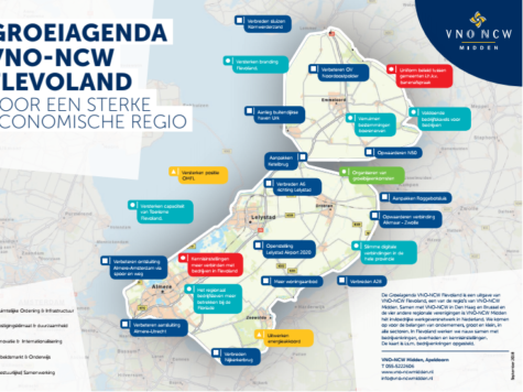 Wensen economische groei Flevoland