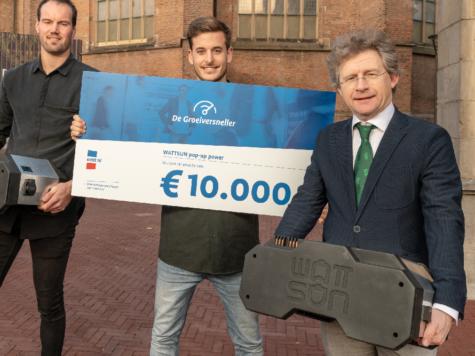 300ste voucher De Groeiversneller uitgereikt