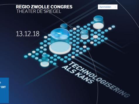 Regio Congres Zwolle: technologisering als kans