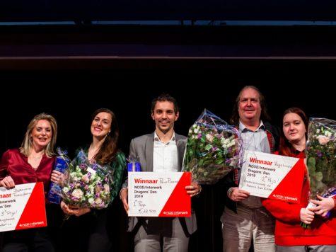 PrintPlezier wint Dragons Den 2019
