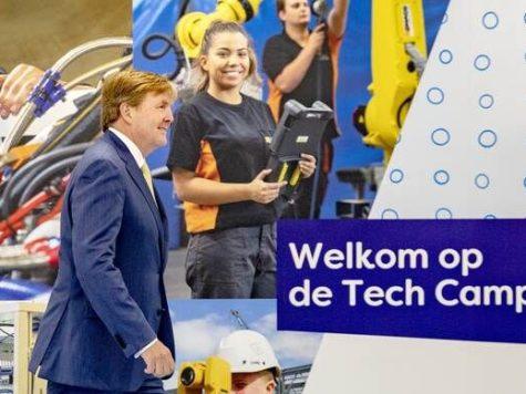 Koning opent Tech Campus Nieuwegein