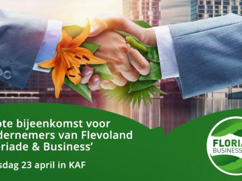 Terugblik Floriade & Business bijeenkomst op 23 april in Almere