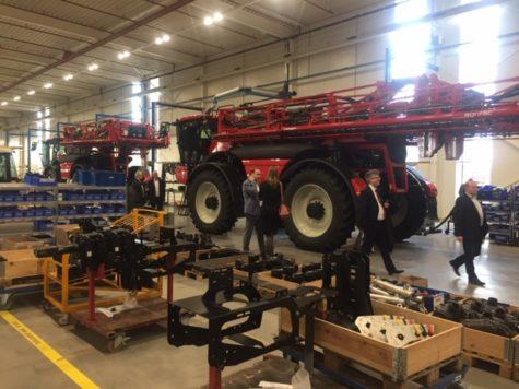 Ondernemers enthousiast over bezoek aan Agrifac in Steenwijk