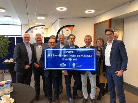 Rijssen-Holten opnieuw winnaar MKB-Vriendelijkste gemeente Overijssel
