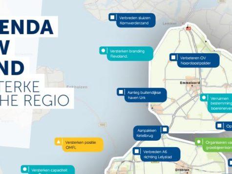 Ondernemers en lijsttrekkers Flevoland willen investeren in bedrijfsleven Flevoland