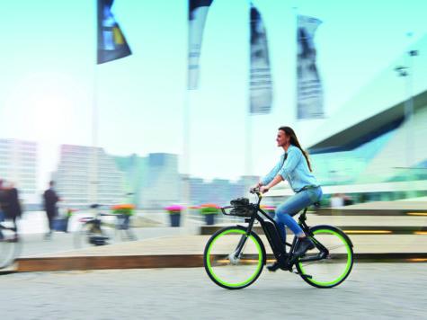 Maak de fietser in je los! Proef met elektrische deelfietsen in Arnhem