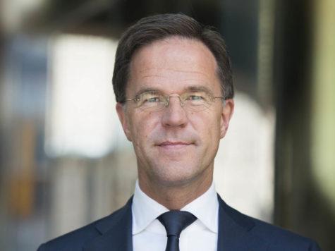Rutte reikt Flevopenning Toponderneming uit op 21 februari 2020