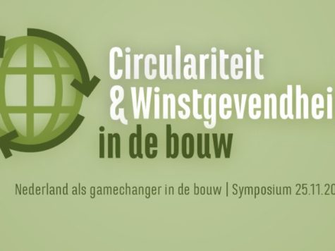 Symposium circulariteit & winstgevendheid in de bouw