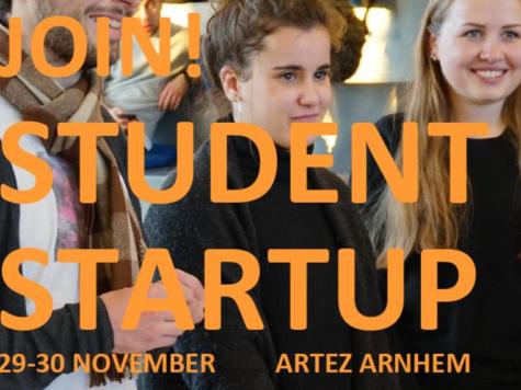 Join! Student StartUp 29-30 november Arnhem