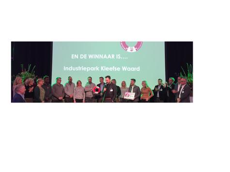 Industriepark Kleefse Waard wint duurzaamheidsprijs