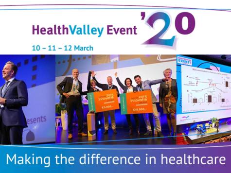 Health Valley Event 2020: 10, 11 en 12 maart, Nijmegen