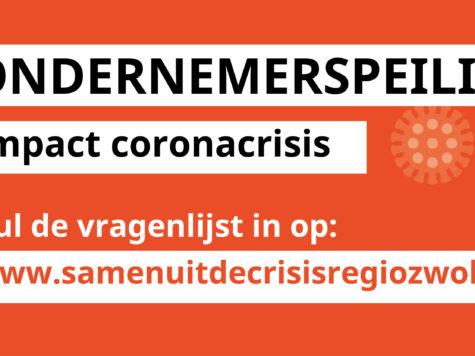 Samen uit de coronacrisis – ondersteuning ondernemers Regio Zwolle