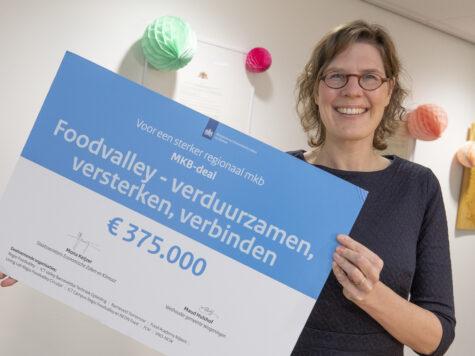 Extra geld voor mkb bedrijven in Regio Foodvalley