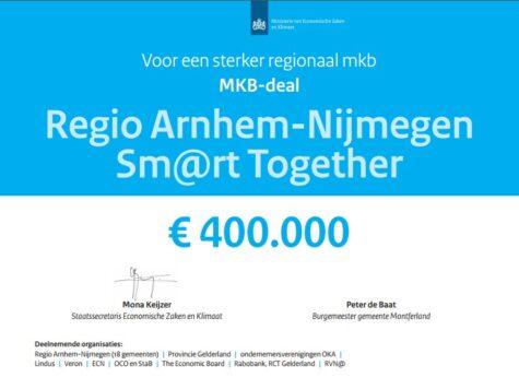 MKB-deal Arnhem-Nijmegen gelukt