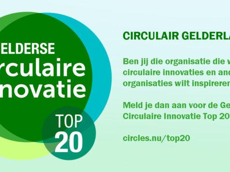 CIRCLES organiseert Gelderse Circulaire Innovatie Top 20