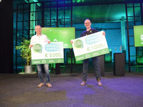 Biopanel en Omlab winnen Gelderse Circulaire Innovatie Top 20