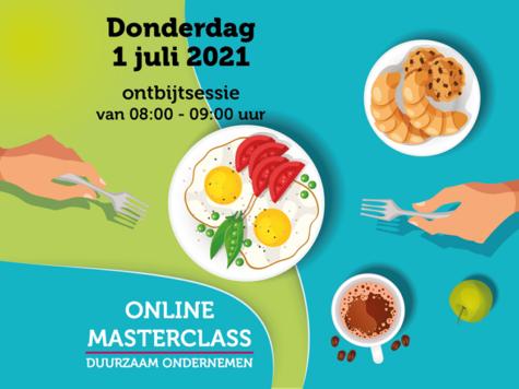 Online Masterclass Duurzaam Ondernemen op 1 juli 2021
