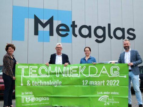 Techniekdag Rivierenland op 12 maart 2022 in Tiel bij ….. Metaglas BV!