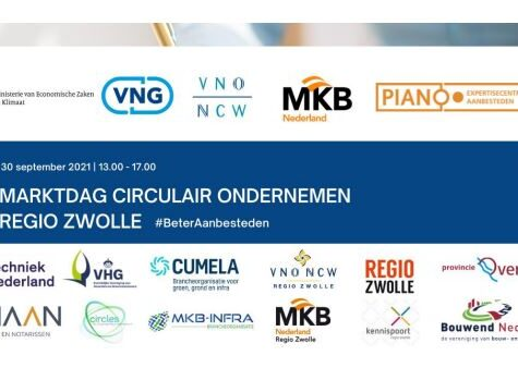Marktdag Circulair Ondernemen regio Zwolle 30 september 2021