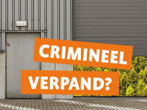 """Talkshow """"Crimineel Verpand?"""" op 20 oktober aanstaande"""