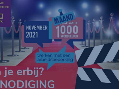 Rode Loper event Sociaal OndernemenWERKT! 1 november 2021